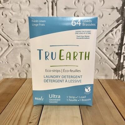 TRU EARTH Laundry Strips Linen 64pk