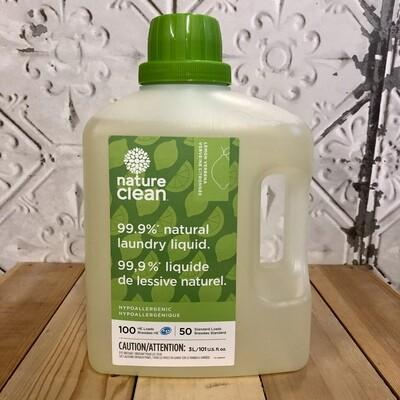 NATURE CLEAN Laundry Liquid Lemon Verbena 3L