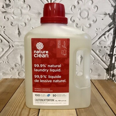 NATURE CLEAN Laundry White Lily 3L