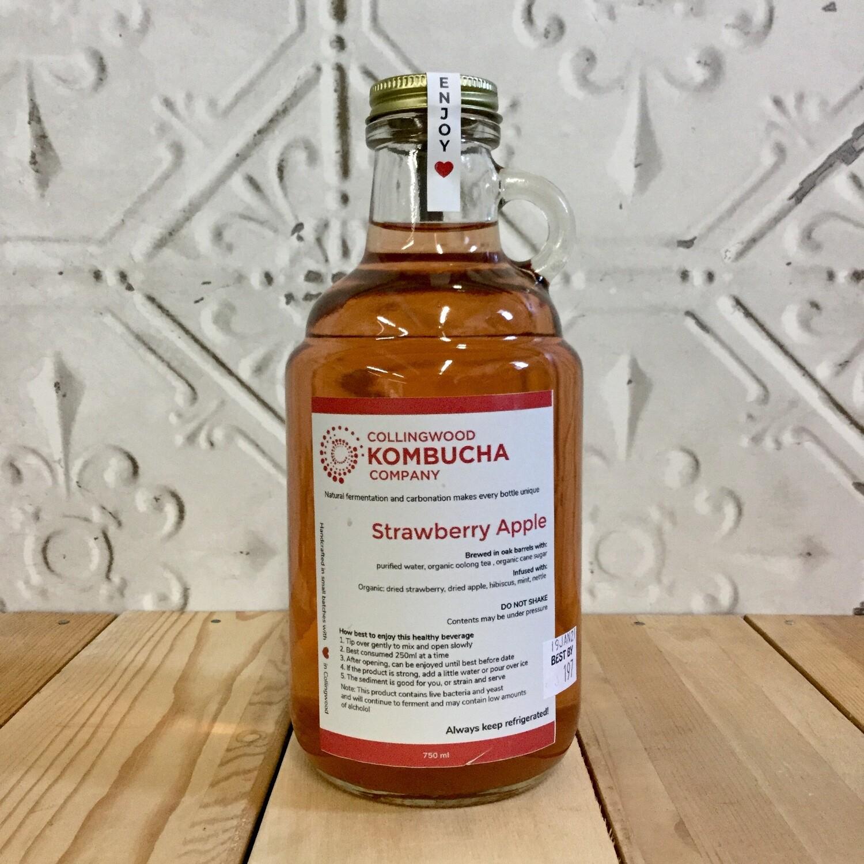 CWOOD KOMBUCHA Strawberry Apple 750ml