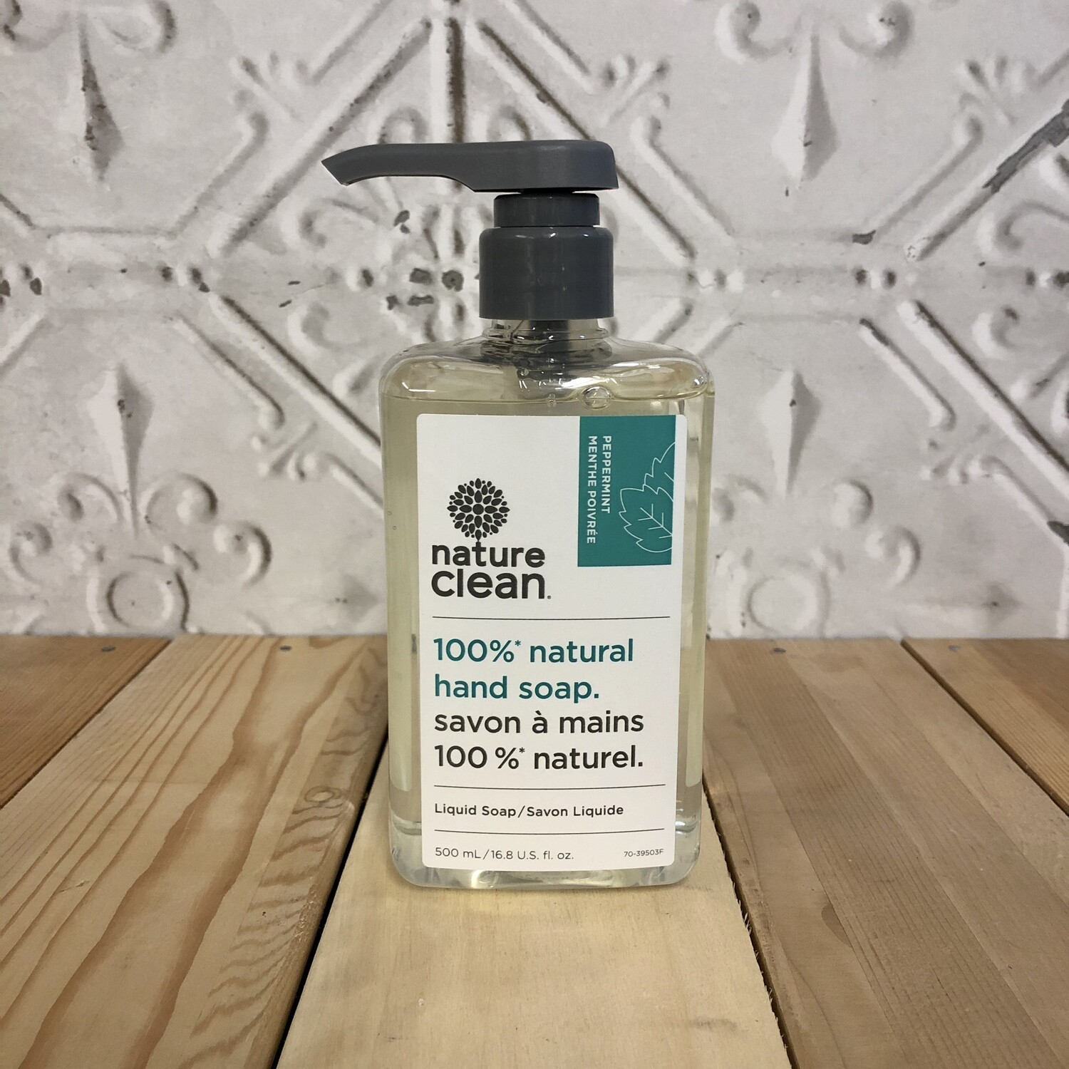 NATURE CLEAN Hand Soap Peppermint 500ml