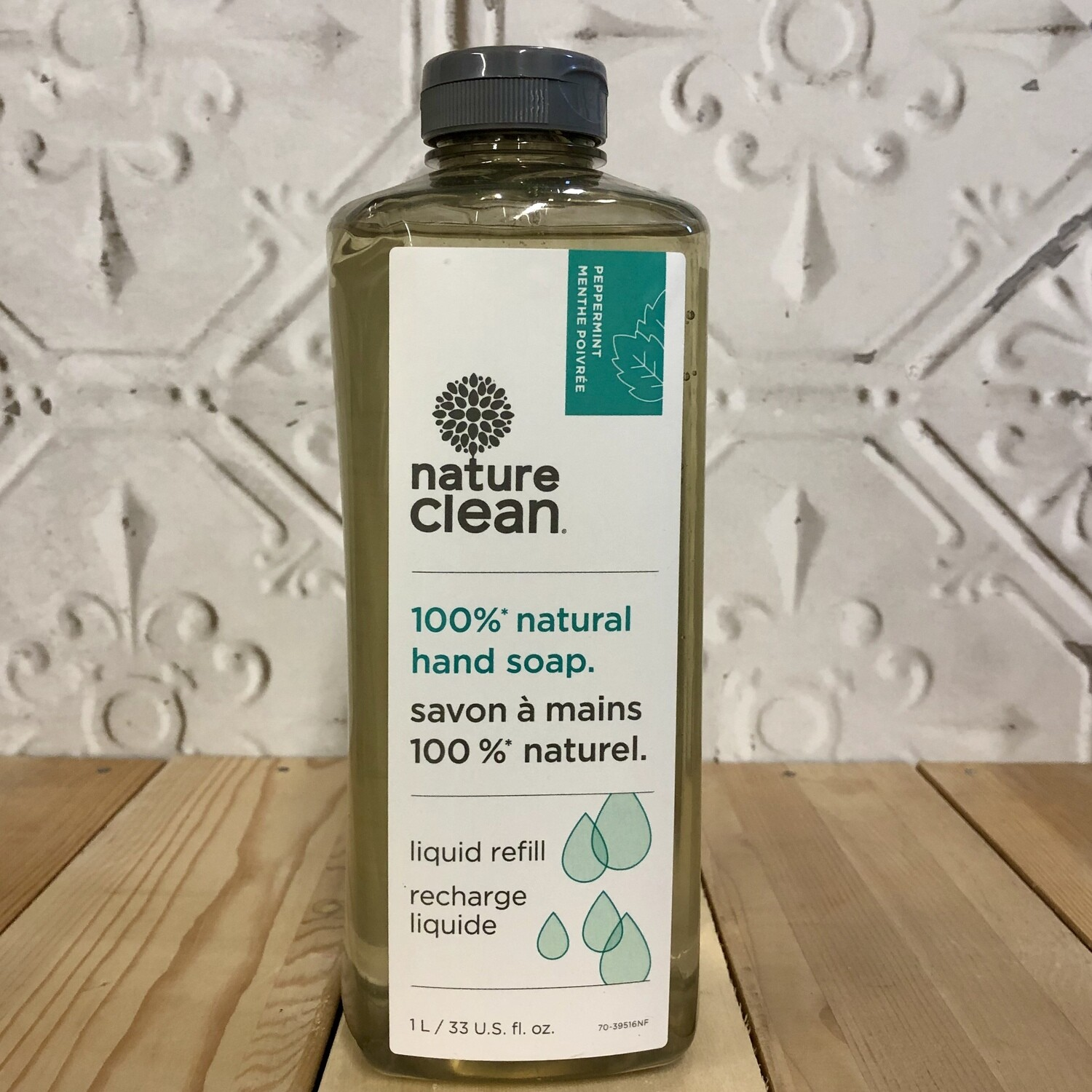 NATURE CLEAN Hand Soap Refill 1L Peppermint