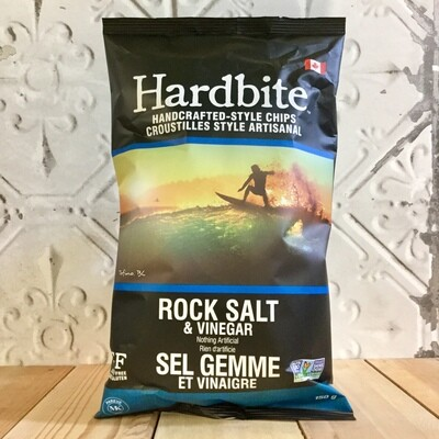 HARDBITE Chips Rock Salt & Vinegar 150g