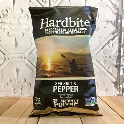 HARDBITE Chips Sea Salt & Pepper 150g