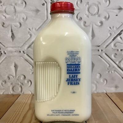 MILLERS DAIRY 2% Milk 1.89L