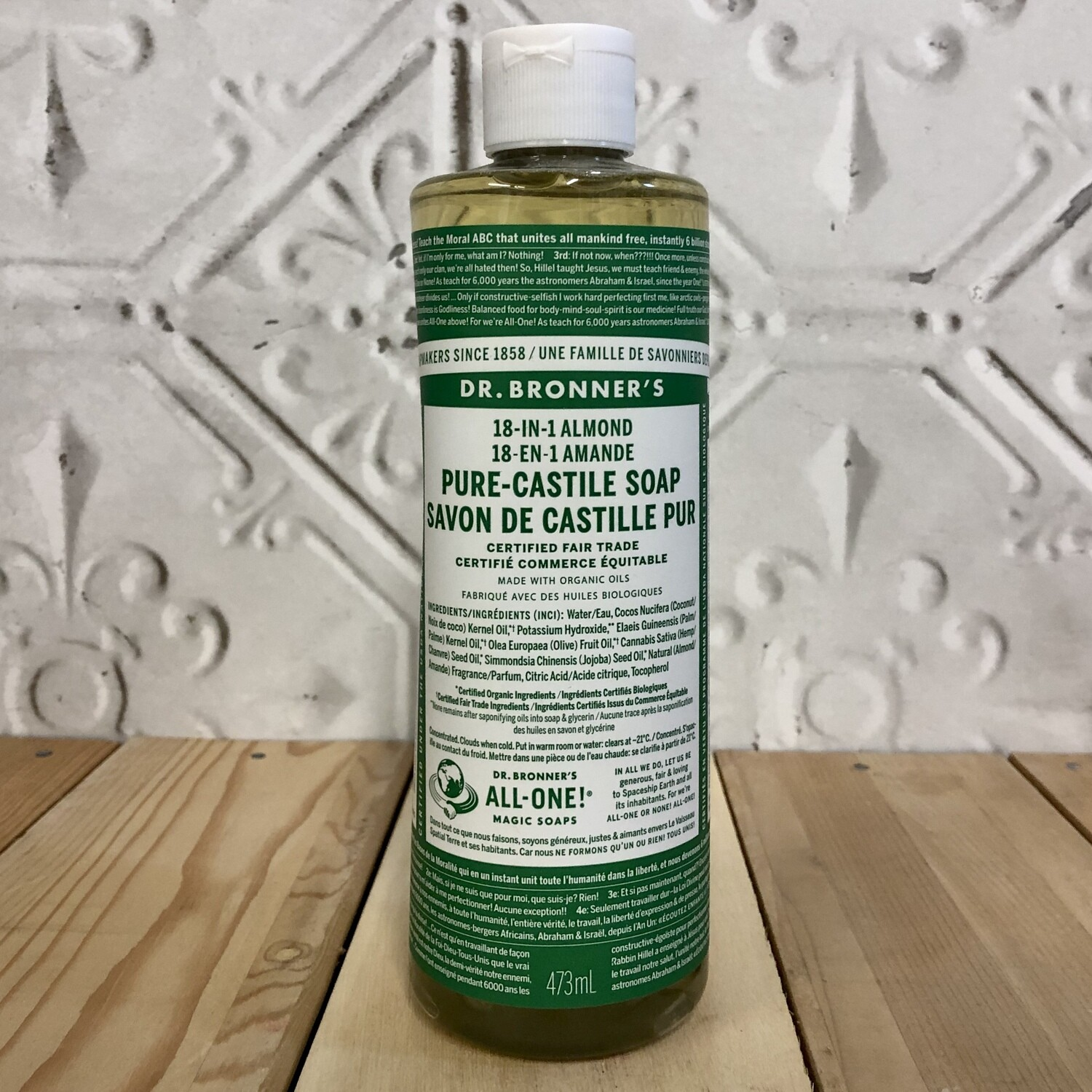 DR BRONNERS Castille 18-in-1 Almond 473ml