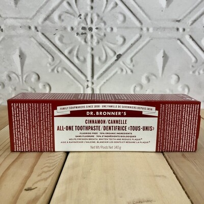 DR.BRONNERS  Toothpaste Cinnamon 140g