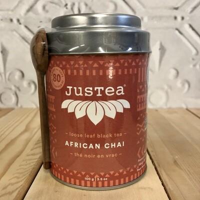 JUSTEA African Chai - Tin