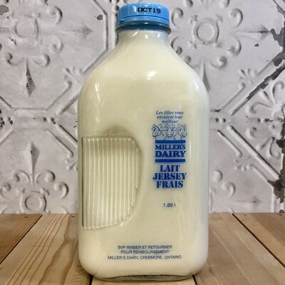 MILLERS DAIRY 1% Milk 1.89L