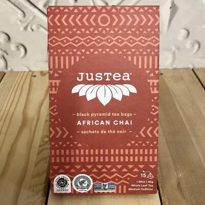 JUSTEA  African Chai Tea - Bags