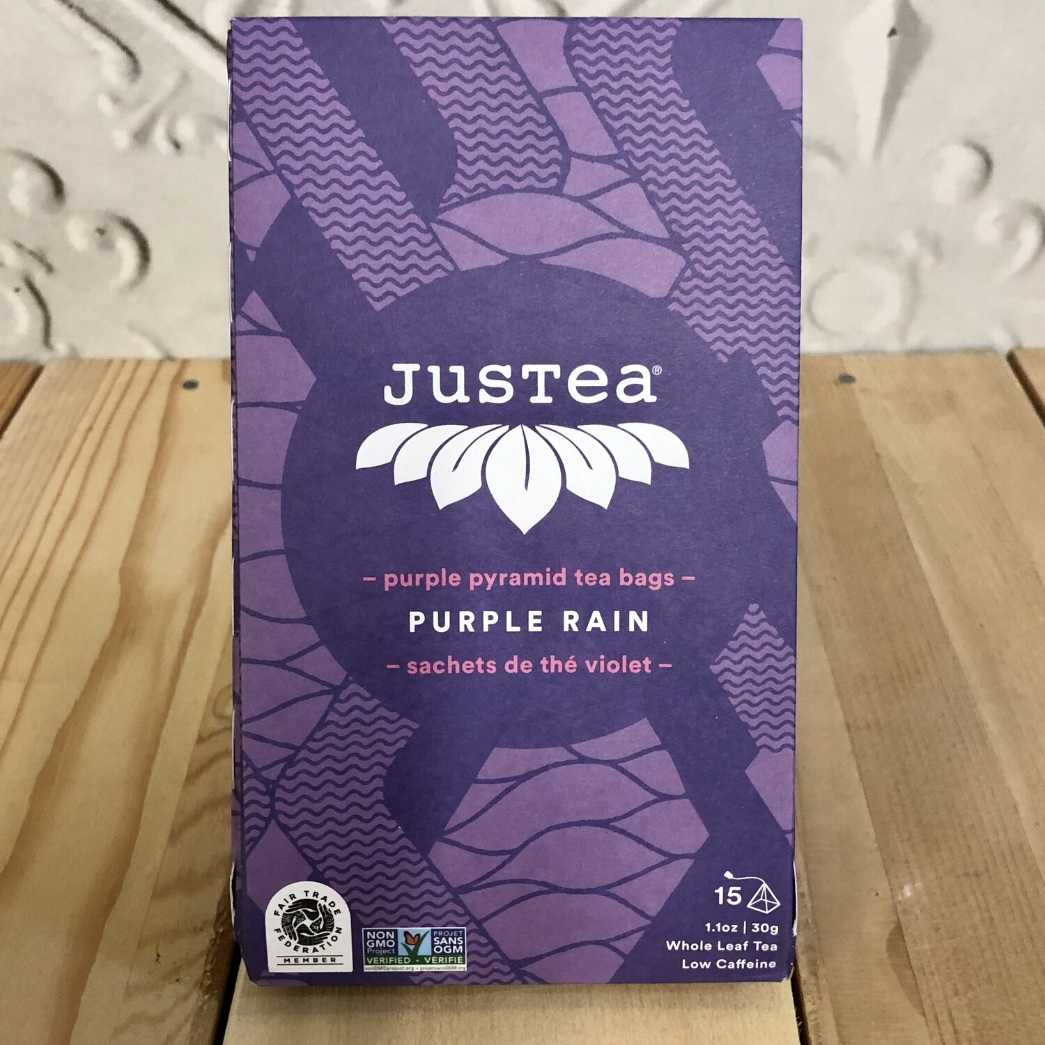 JUSTEA Tea Bags Purple Rain