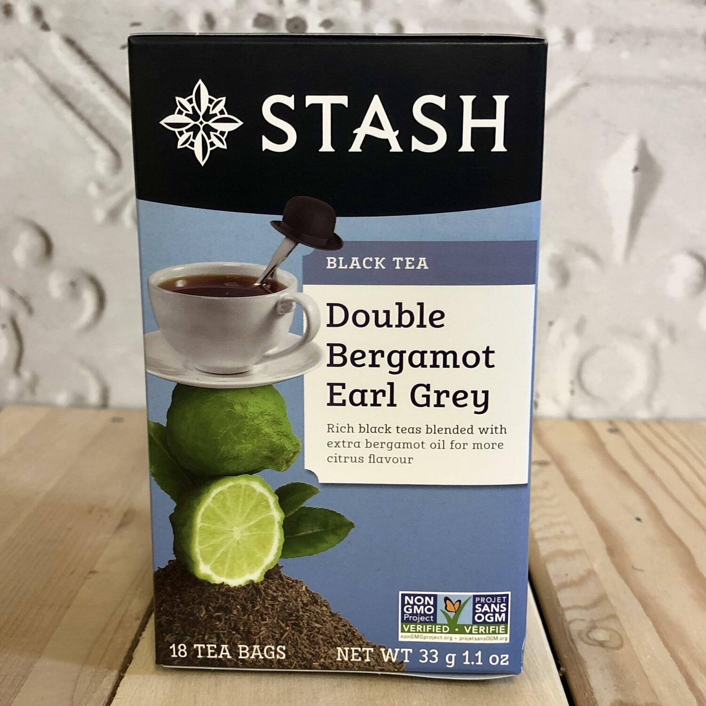 STASH TEA Earl Grey Dbl Bergamot 18pk