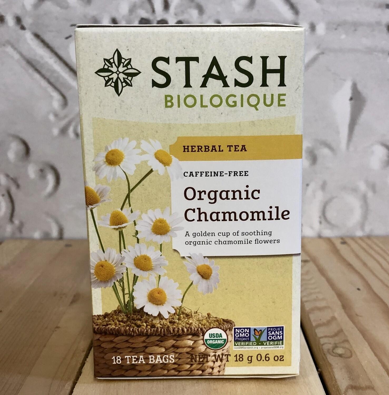 STASH TEA Org Chamomile 18 ct