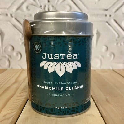 JUSTEA Chamomile Cleanse - Tin 45g