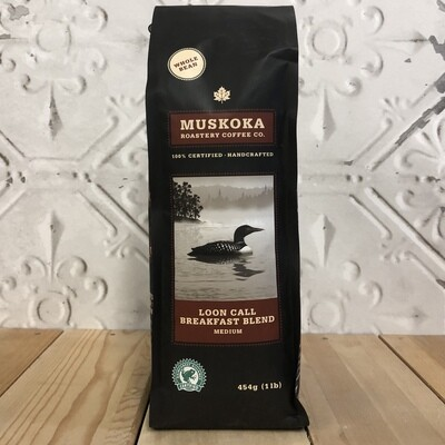 MUSKOKA ROAST Loon Call Breakfast Blend Whole Bean