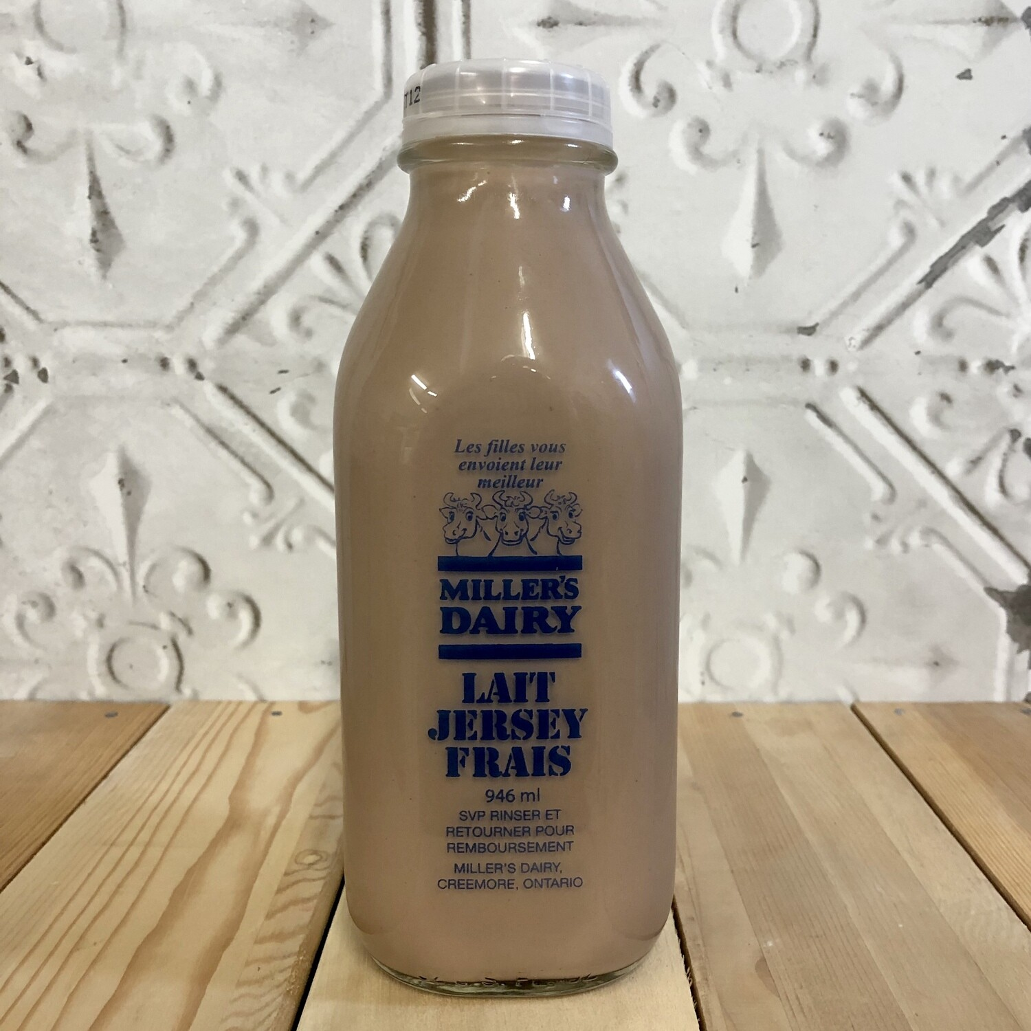 MILLERS DAIRY Chocolate 946ml