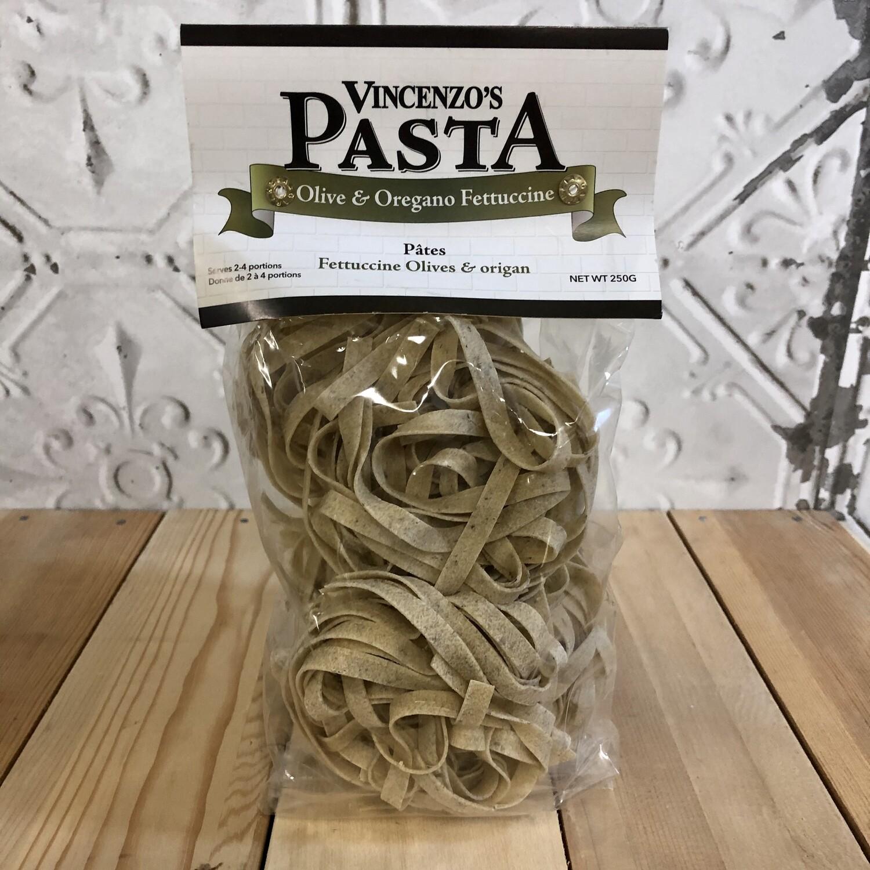 VINCENZO Olive & Oregano Fettucine 250g