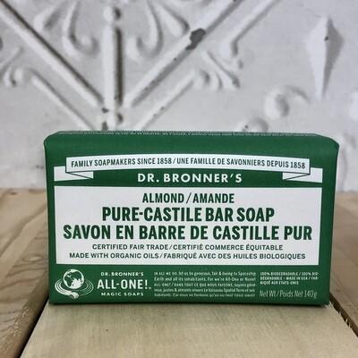 DR BRONNERS Bar Almond