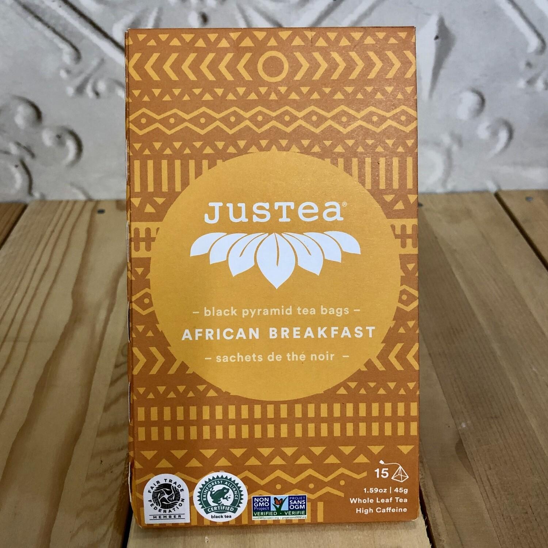 JUSTEA Tea Bags African Breakfast