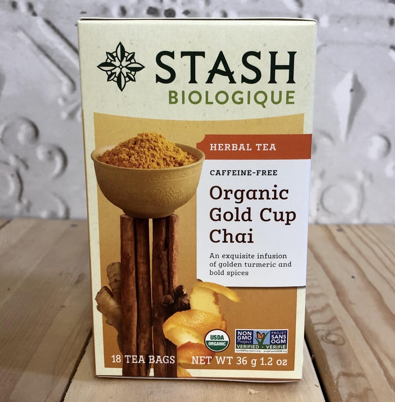 STASH Gold Cup Chai Tea 18 bags