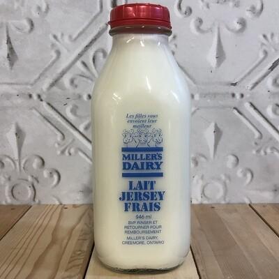 MILLERS DAIRY 2% Milk 946ml