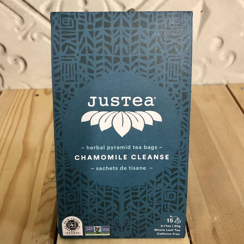 JUSTEA Tea Bags Chamomile Cleanse