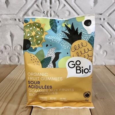 GO BIO Sour Fruit Gummies Org 75g