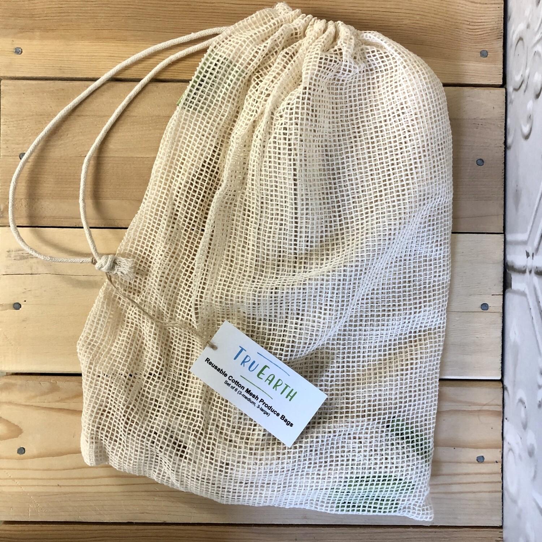 TRU EARTH Produce Bags 6pk