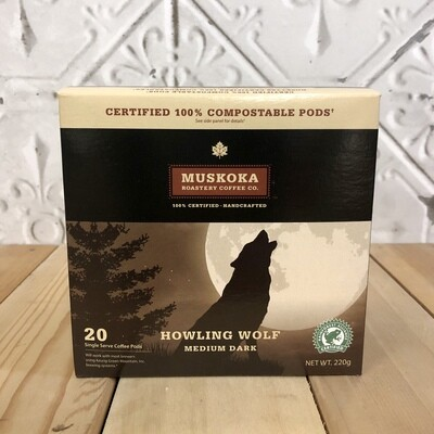 MUSKOKA Pods Howling Wolf
