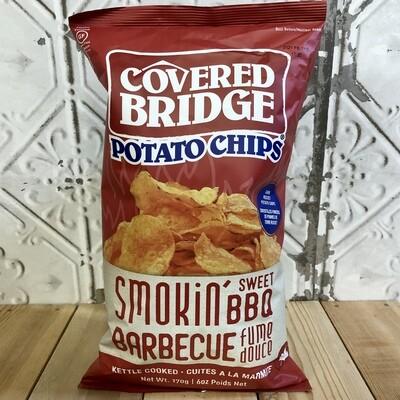 COVERED BRIDGE Chips Sweet BBQ 170g