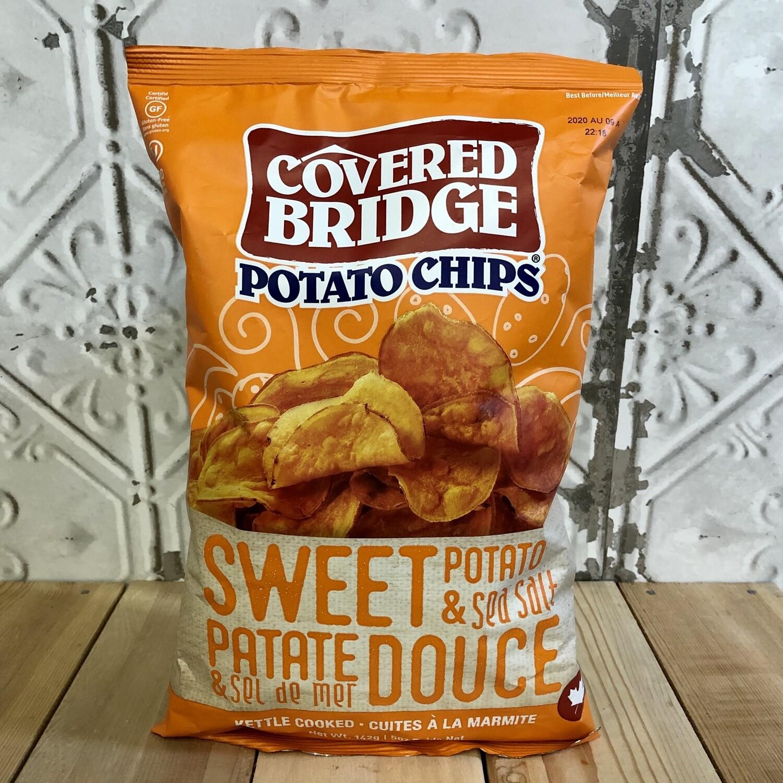 COVERED BRIDGE Chips Sweet Potato 142g