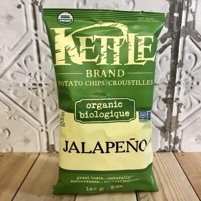 KETTLE BRAND Chips Jalapeno Org 142G