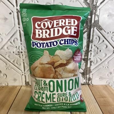 COVERED BRIDGE Chips SC&O 170g