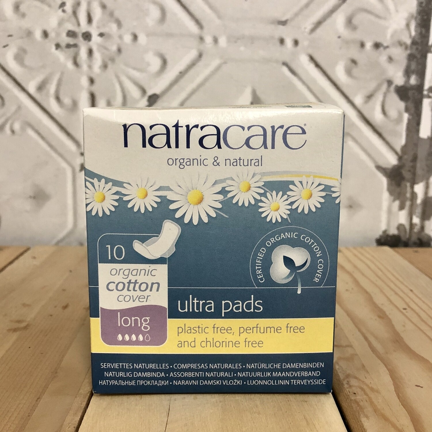 NATRACARE Ultra Pads 10ct Long
