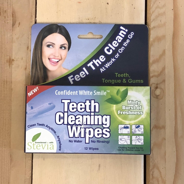 TEETH CLEANING WIPES
