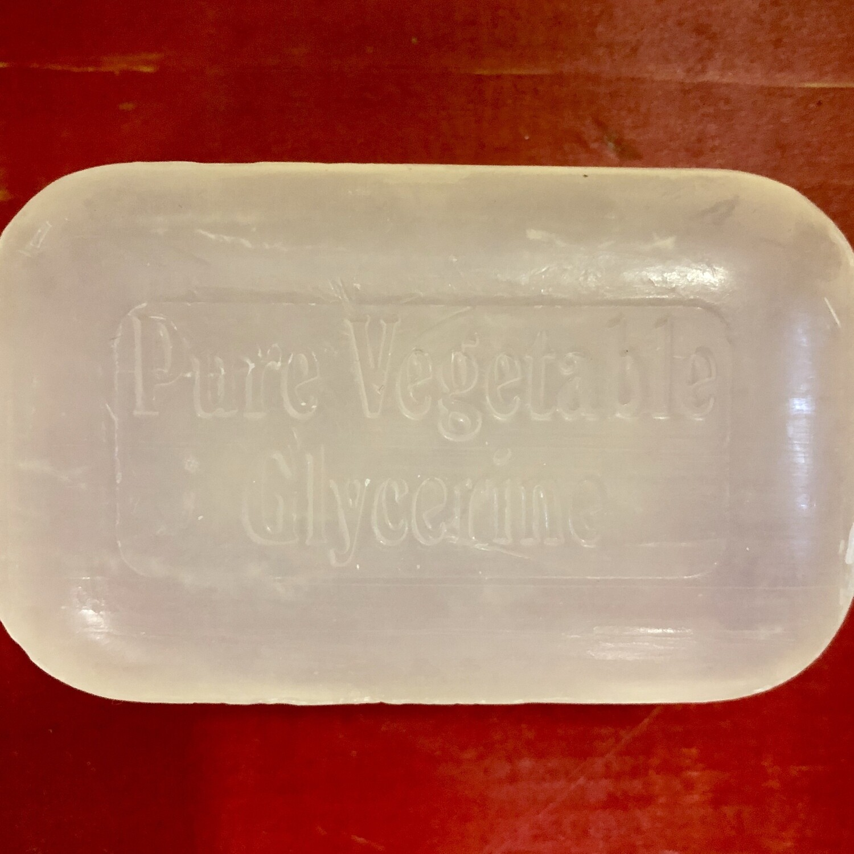 SOAP WORKS Bar Vegetable Glycerine
