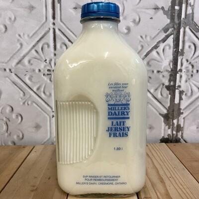 MILLERS DAIRY Skim Milk 1.89L