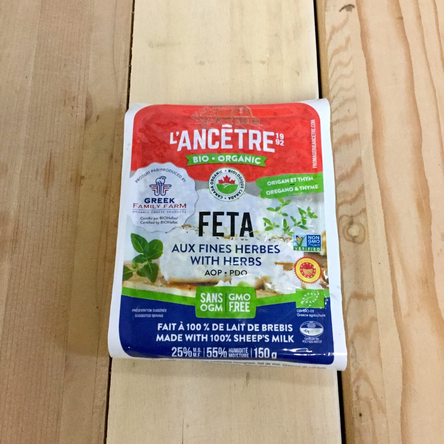 LANCETRE Feta Cheese with Herb