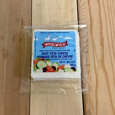 WOOLWICH Goat Feta Cheese 200g