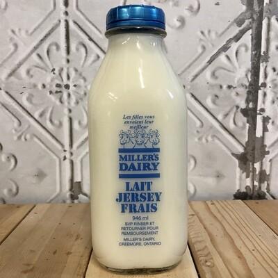 MILLERS DAIRY Skim Milk 946ml