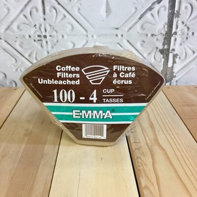 EMMA Cone Filters 100pc - 4 cup