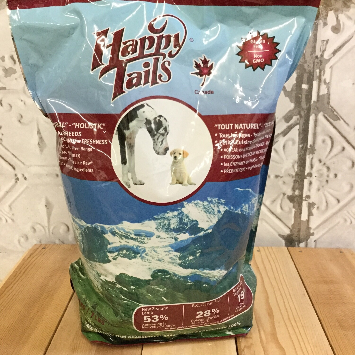HAPPY TAILS Dog Food 3.2Kg