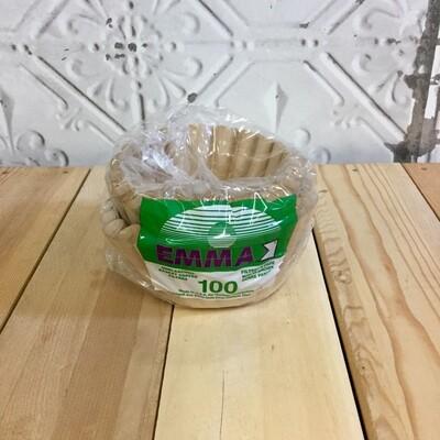 EMMA Basket Filters 100pc