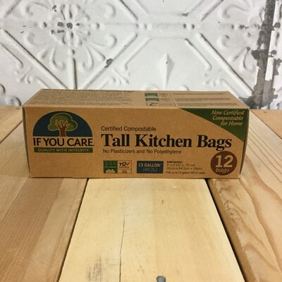 IF YOU CARE Tall Kitchen Bags 12ct