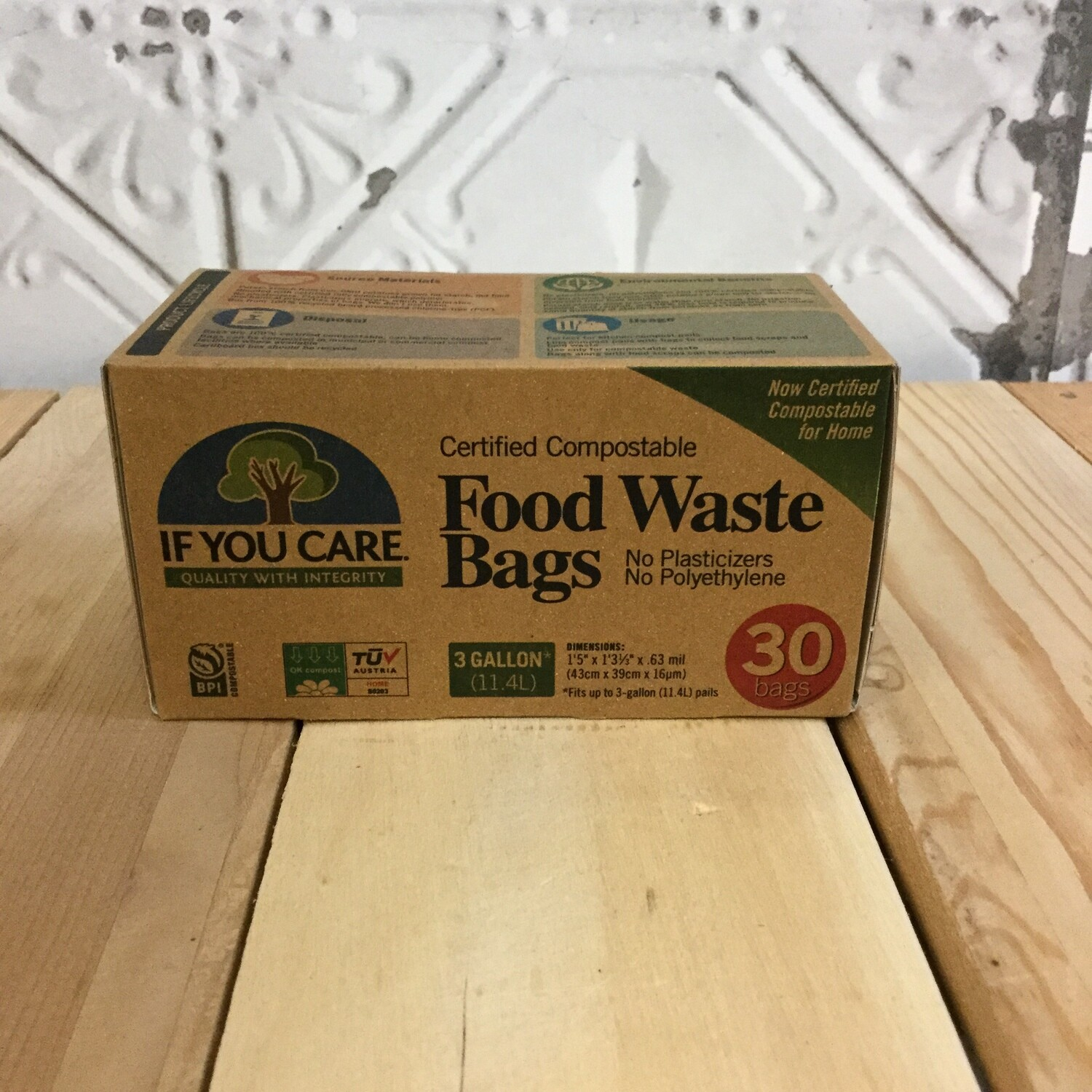 IF YOU CARE Food Waste Bags 30ct