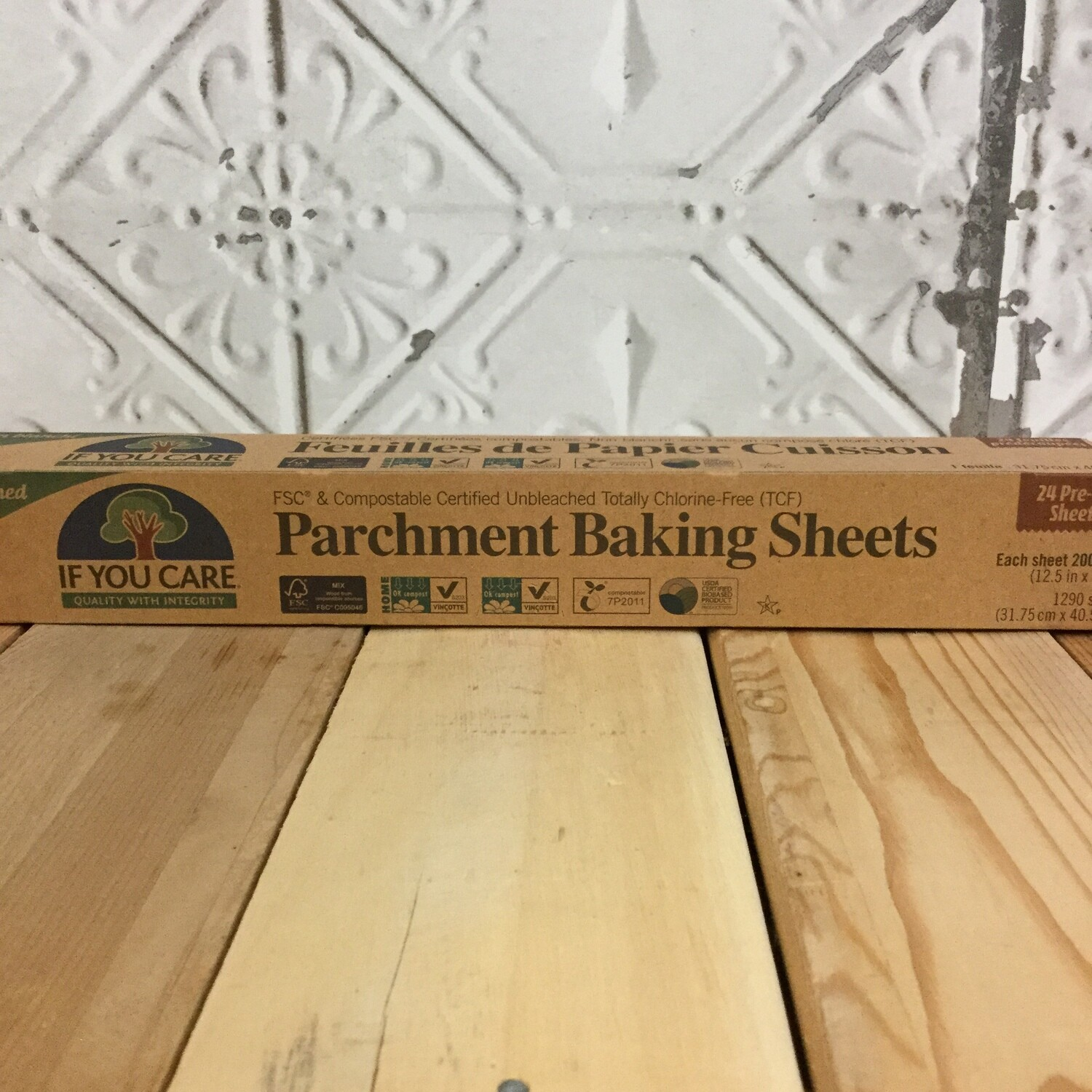 IF YOU CARE Parchment Sheets 24ct