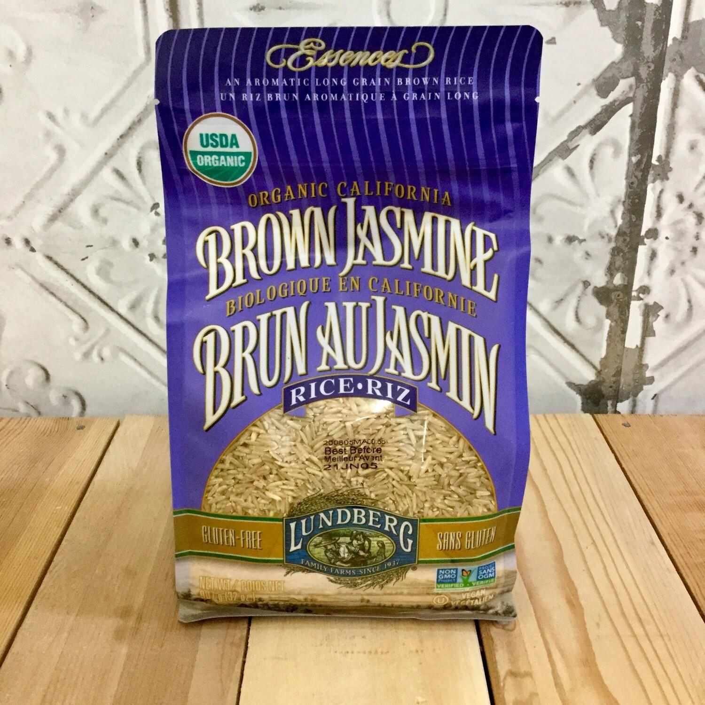 LUNDBERG Brown Jasmine Rice 907g