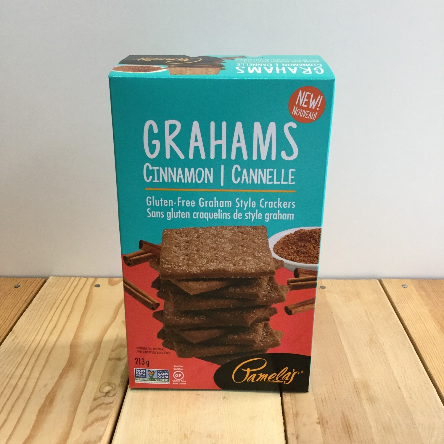 PAMELAS Graham Crackers Cinn 213g