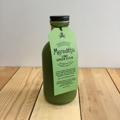 MEREDITHS - LIME ELIXIR 500ml