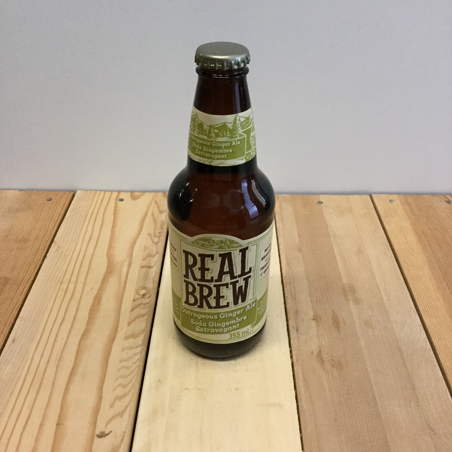 REAL BREW Ginger Ale 355ml